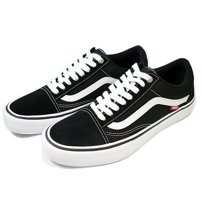 <img class='new_mark_img1' src='//img.shop-pro.jp/img/new/icons55.gif' style='border:none;display:inline;margin:0px;padding:0px;width:auto;' />VANS OLD SKOOL PRO 【PRO】/ BLACK/WHITE (バンズ/ヴァンズ プロスケート スニーカー)