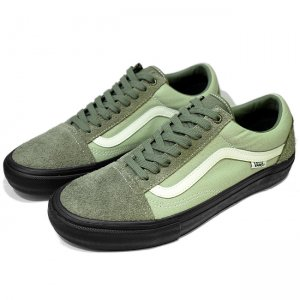 <img class='new_mark_img1' src='//img.shop-pro.jp/img/new/icons5.gif' style='border:none;display:inline;margin:0px;padding:0px;width:auto;' />VANS OLD SKOOL PRO 【PRO】/ DUSTY OLIVE/SAGE (バンズ/ヴァンズ プロスケート スニーカー)