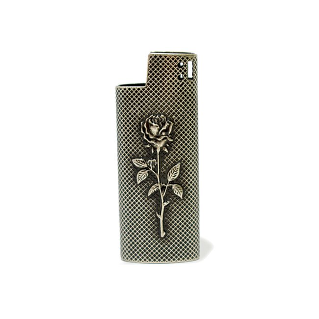 <img class='new_mark_img1' src='//img.shop-pro.jp/img/new/icons55.gif' style='border:none;display:inline;margin:0px;padding:0px;width:auto;' />Good Worth & Co. Rose Lighter Case / Antique Nickel (アクセサリー ライターケース)