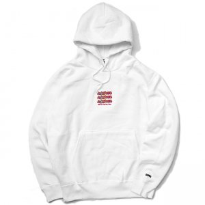 <img class='new_mark_img1' src='//img.shop-pro.jp/img/new/icons5.gif' style='border:none;display:inline;margin:0px;padding:0px;width:auto;' />SAYHELLO Jams Embroidery Heavy Hoodie / WHITE (セイハロー パーカー/スウェット)