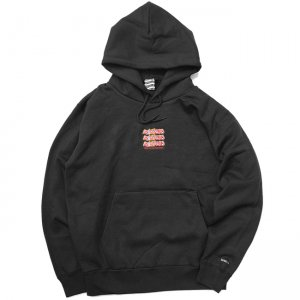 <img class='new_mark_img1' src='//img.shop-pro.jp/img/new/icons5.gif' style='border:none;display:inline;margin:0px;padding:0px;width:auto;' />SAYHELLO Jams Embroidery Heavy Hoodie / BLACK (セイハロー パーカー/スウェット)