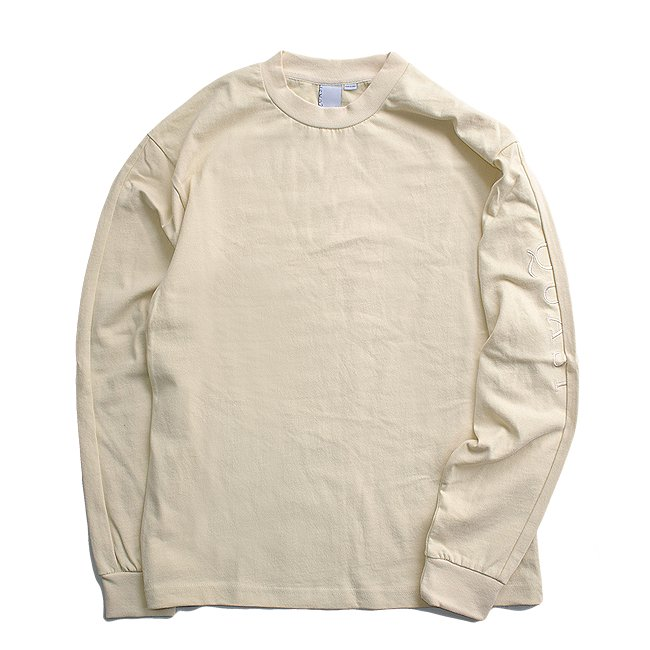 <img class='new_mark_img1' src='//img.shop-pro.jp/img/new/icons5.gif' style='border:none;display:inline;margin:0px;padding:0px;width:auto;' />QUASI OSCAR L/S MOCKNECK SHIRT / CREME (クアジ ロングスリーブ カットソー)