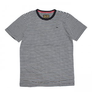 <img class='new_mark_img1' src='//img.shop-pro.jp/img/new/icons5.gif' style='border:none;display:inline;margin:0px;padding:0px;width:auto;' />BENNY GOLD PREMIUM STRIPED TEE / BLACK (ベニーゴールド Tシャツ)