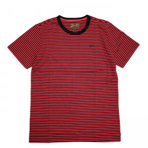 <img class='new_mark_img1' src='//img.shop-pro.jp/img/new/icons5.gif' style='border:none;display:inline;margin:0px;padding:0px;width:auto;' />BENNY GOLD PREMIUM STRIPED TEE / CLARET (ベニーゴールド Tシャツ)