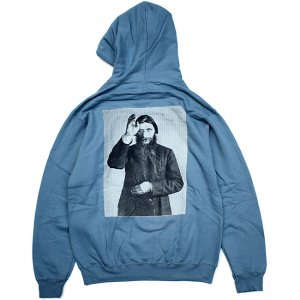 <img class='new_mark_img1' src='//img.shop-pro.jp/img/new/icons5.gif' style='border:none;display:inline;margin:0px;padding:0px;width:auto;' />【10% OFF】THEORIES RASPUTIN PULLOVER HOODIE / STEEL BLUE(セオリーズ フーディー/パーカー)