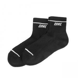 <img class='new_mark_img1' src='//img.shop-pro.jp/img/new/icons5.gif' style='border:none;display:inline;margin:0px;padding:0px;width:auto;' />DIME SOCKS 2PAIRS PACK / BLACK (ダイム ソックス / 靴下)