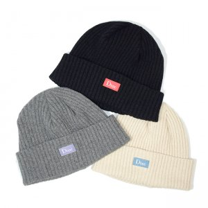 <img class='new_mark_img1' src='//img.shop-pro.jp/img/new/icons5.gif' style='border:none;display:inline;margin:0px;padding:0px;width:auto;' />DIME RIBBED CASHMERE BEANIE / (ダイム ニットキャップ / カシミアビーニー)