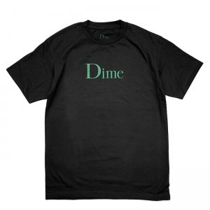 <img class='new_mark_img1' src='//img.shop-pro.jp/img/new/icons5.gif' style='border:none;display:inline;margin:0px;padding:0px;width:auto;' />DIME CLASSIC LOGO T-SHIRT / BLACK (ダイム Tシャツ / 半袖)