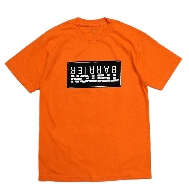 <img class='new_mark_img1' src='//img.shop-pro.jp/img/new/icons5.gif' style='border:none;display:inline;margin:0px;padding:0px;width:auto;' />QUASI BARRIER TEE / ORANGE (クアジ Tシャツ/半袖)