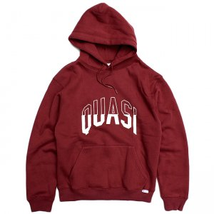 <img class='new_mark_img1' src='//img.shop-pro.jp/img/new/icons5.gif' style='border:none;display:inline;margin:0px;padding:0px;width:auto;' />QUASI Arc Hood Sweat / Burgundy (クアジ パーカー フーディー)