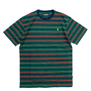<img class='new_mark_img1' src='//img.shop-pro.jp/img/new/icons5.gif' style='border:none;display:inline;margin:0px;padding:0px;width:auto;' />PIZZA SKATEBOARDS EMOJI STRIPED TEE / RBG (ピザスケートボード Tシャツ)