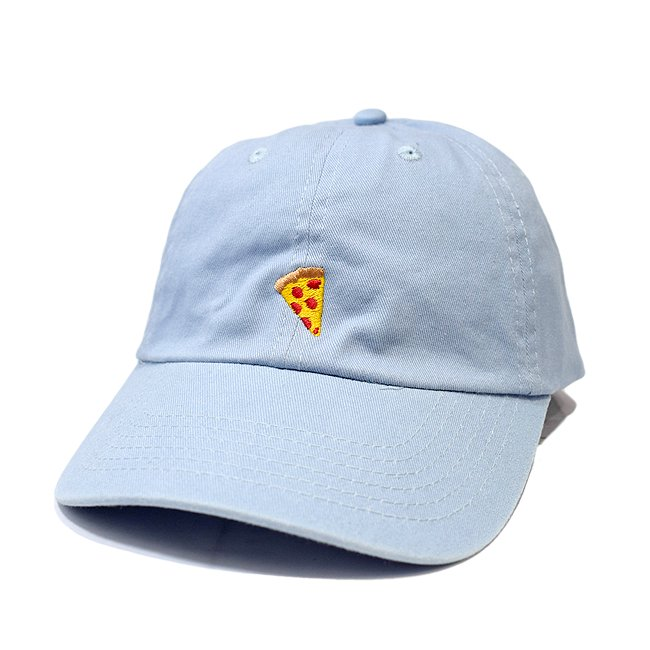 <img class='new_mark_img1' src='//img.shop-pro.jp/img/new/icons5.gif' style='border:none;display:inline;margin:0px;padding:0px;width:auto;' />PIZZA SKATEBOARDS EMOJI DELIVERY POLO CAP / BABY BLUE (ピザスケートボード ポロキャップ)