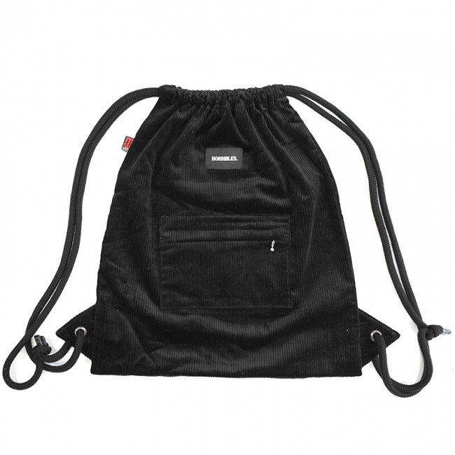 <img class='new_mark_img1' src='//img.shop-pro.jp/img/new/icons5.gif' style='border:none;display:inline;margin:0px;padding:0px;width:auto;' />HORRIBLE'S by STS BAGS CORDUROY KNAPSACK / BLACK (ホリブルズ ナップサック/バック)