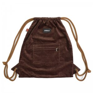 <img class='new_mark_img1' src='https://img.shop-pro.jp/img/new/icons5.gif' style='border:none;display:inline;margin:0px;padding:0px;width:auto;' />HORRIBLE'S by STS BAGS CORDUROY KNAPSACK / CHOCOLATE (ホリブルズ ナップサック/バック)