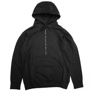 <img class='new_mark_img1' src='//img.shop-pro.jp/img/new/icons5.gif' style='border:none;display:inline;margin:0px;padding:0px;width:auto;' />GRAND COLLECTION CENTERED HOODIE / BLACK (グランドコレクション スウェット/パーカー)