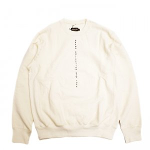 <img class='new_mark_img1' src='//img.shop-pro.jp/img/new/icons5.gif' style='border:none;display:inline;margin:0px;padding:0px;width:auto;' />GRAND COLLECTION CENTERED CREWNECK SWEAT / CREAM (グランドコレクション スウェット/クルーネック)