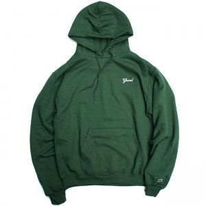 <img class='new_mark_img1' src='//img.shop-pro.jp/img/new/icons5.gif' style='border:none;display:inline;margin:0px;padding:0px;width:auto;' />【10% OFF】GRAND SCRIPT HOODIE / FOREST (グランドコレクション スウェット/パーカー)
