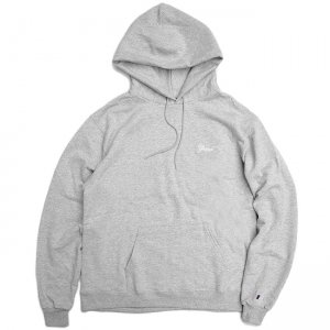 <img class='new_mark_img1' src='//img.shop-pro.jp/img/new/icons5.gif' style='border:none;display:inline;margin:0px;padding:0px;width:auto;' />【10% OFF】GRAND SCRIPT HOODIE / HEATHER GREY (グランドコレクション スウェット/パーカー)