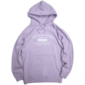 <img class='new_mark_img1' src='//img.shop-pro.jp/img/new/icons5.gif' style='border:none;display:inline;margin:0px;padding:0px;width:auto;' />GRAND × AROUND THE WORLD HOODIE / LAVENDER (グランドコレクション スウェット/パーカー)