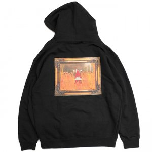 <img class='new_mark_img1' src='//img.shop-pro.jp/img/new/icons5.gif' style='border:none;display:inline;margin:0px;padding:0px;width:auto;' />Hellrazor × Shawn Powers Satan Pullover Hoodie / BLACK (ヘルレイザー パーカー/フーディ)