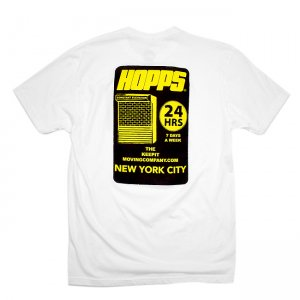 <img class='new_mark_img1' src='//img.shop-pro.jp/img/new/icons5.gif' style='border:none;display:inline;margin:0px;padding:0px;width:auto;' />【10% OFF】HOPPS 24HRS TEE SHIRT / WHITE (ホップス Tシャツ)
