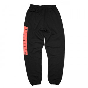 <img class='new_mark_img1' src='//img.shop-pro.jp/img/new/icons5.gif' style='border:none;display:inline;margin:0px;padding:0px;width:auto;' />HOPPS BIG HOPPS SWEAT PANTS / BLACK×RED (ホップス スウェットパンツ/ボトムス)