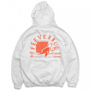 <img class='new_mark_img1' src='https://img.shop-pro.jp/img/new/icons5.gif' style='border:none;display:inline;margin:0px;padding:0px;width:auto;' />FEEVERBUG THE STORE HOODIE / ASH (フィバーバグ パーカー/スウェット)