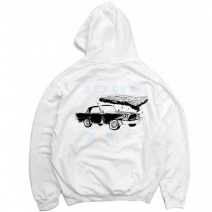 <img class='new_mark_img1' src='//img.shop-pro.jp/img/new/icons5.gif' style='border:none;display:inline;margin:0px;padding:0px;width:auto;' />FEEVERBUG CAR CLUB HOODIE / WHITE (フィバーバグ パーカー/スウェット)