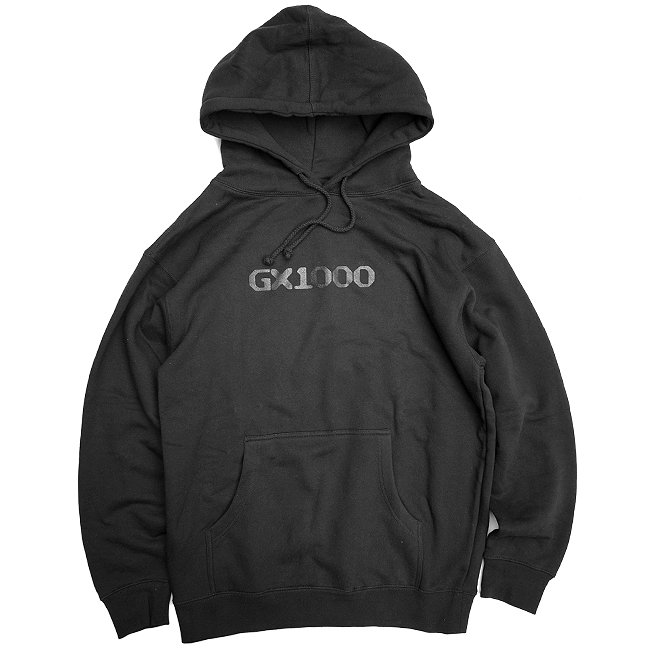 <img class='new_mark_img1' src='//img.shop-pro.jp/img/new/icons5.gif' style='border:none;display:inline;margin:0px;padding:0px;width:auto;' />GX1000 OG LOGO HOODIE / BLACK (ジーエックスセン パーカー / スウェット)
