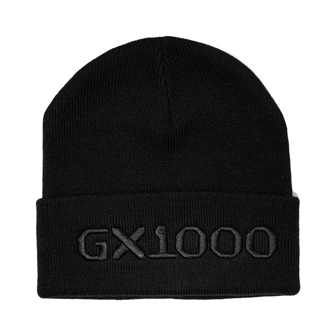 <img class='new_mark_img1' src='//img.shop-pro.jp/img/new/icons5.gif' style='border:none;display:inline;margin:0px;padding:0px;width:auto;' />GX1000 OG LOGO BEANIE / BLACK (ジーエックスセン ニットキャップ / ビーニー)