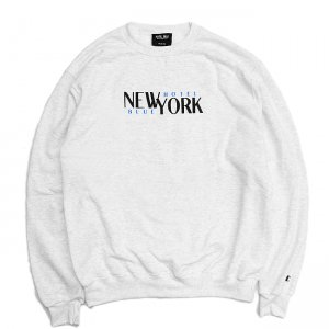 <img class='new_mark_img1' src='//img.shop-pro.jp/img/new/icons5.gif' style='border:none;display:inline;margin:0px;padding:0px;width:auto;' />HOTEL BLUE STACKS CHAMPION CREWNECK SWEAT / ASH GREY (ホテルブルー クルーネックスウェット)
