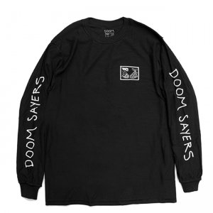 <img class='new_mark_img1' src='https://img.shop-pro.jp/img/new/icons5.gif' style='border:none;display:inline;margin:0px;padding:0px;width:auto;' />DOOM SAYERS INSIDE OUT SNAKE SHAKE L/S TEE / BLACK (ドゥームセイヤーズ Tシャツ/TEE)