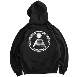 <img class='new_mark_img1' src='//img.shop-pro.jp/img/new/icons5.gif' style='border:none;display:inline;margin:0px;padding:0px;width:auto;' />THEORIES CHAOS PULLOVER HOODIE / BLACK (セオリーズ フーディー/パーカー)