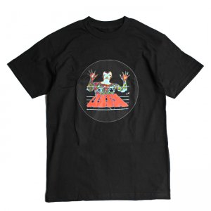 <img class='new_mark_img1' src='//img.shop-pro.jp/img/new/icons5.gif' style='border:none;display:inline;margin:0px;padding:0px;width:auto;' />QUASI SCAN TEE / BLACK (クアジ Tシャツ/半袖)