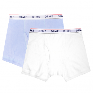 <img class='new_mark_img1' src='//img.shop-pro.jp/img/new/icons5.gif' style='border:none;display:inline;margin:0px;padding:0px;width:auto;' />DIME BOXERS 2PACK LIGHT BLUE & WHITE / (ダイム ボクサーパンツ/ アンダーウェア)