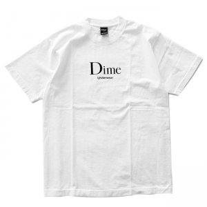 <img class='new_mark_img1' src='//img.shop-pro.jp/img/new/icons5.gif' style='border:none;display:inline;margin:0px;padding:0px;width:auto;' />DIME UNDERWEAR T-SHIRT / WHITE (ダイム Tシャツ / 半袖)