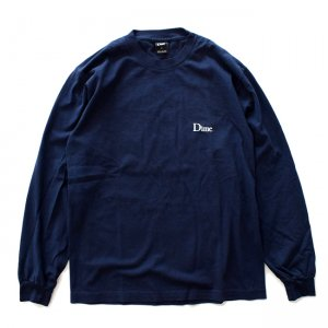 <img class='new_mark_img1' src='//img.shop-pro.jp/img/new/icons5.gif' style='border:none;display:inline;margin:0px;padding:0px;width:auto;' />DIME CLASSIC LOGO L/S T-SHIRT / NAVY (ダイム 長袖 Tシャツ / ロングスリーブ)