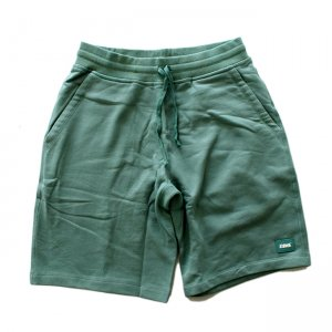 DIME FRENCH TERRY SHORTS / WASHED GREEN (ダイム ショーツ / スウェット)