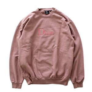 <img class='new_mark_img1' src='//img.shop-pro.jp/img/new/icons5.gif' style='border:none;display:inline;margin:0px;padding:0px;width:auto;' />DIME CLASSIC EMBROIDERED CREWNECK / FUCHSIA (ダイム クルーネック / スウェット)