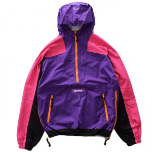 <img class='new_mark_img1' src='//img.shop-pro.jp/img/new/icons5.gif' style='border:none;display:inline;margin:0px;padding:0px;width:auto;' />DIME PULLOVER HOOD SHELL JACKET / PURPLE (ダイム アノラックジャケット / ナイロンジャケット)