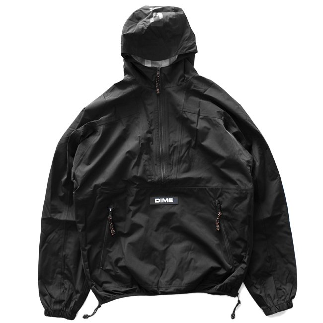 <img class='new_mark_img1' src='//img.shop-pro.jp/img/new/icons5.gif' style='border:none;display:inline;margin:0px;padding:0px;width:auto;' />DIME PULLOVER HOOD SHELL JACKET / BLACK (ダイム アノラックジャケット / ナイロンジャケット)