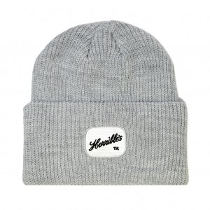 <img class='new_mark_img1' src='//img.shop-pro.jp/img/new/icons5.gif' style='border:none;display:inline;margin:0px;padding:0px;width:auto;' />HORRIBLE'S PACTH RIBBED KNIT CAP /GREY (ホリブルズ ビーニー/ニットキャップ)