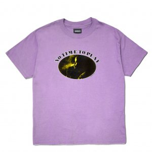 <img class='new_mark_img1' src='//img.shop-pro.jp/img/new/icons5.gif' style='border:none;display:inline;margin:0px;padding:0px;width:auto;' />HORRIBLE'S NO TIME TO PLAY T-SHIRT / LAVENDER (ホリブルズ Tシャツ)