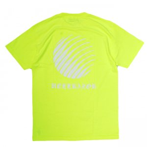 <img class='new_mark_img1' src='//img.shop-pro.jp/img/new/icons5.gif' style='border:none;display:inline;margin:0px;padding:0px;width:auto;' />HELLRAZOR OL'ENGLISH LOGO T-SHIRT / SAFETY GREEN (ヘルレイザー Tシャツ)