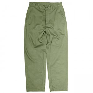 <img class='new_mark_img1' src='//img.shop-pro.jp/img/new/icons5.gif' style='border:none;display:inline;margin:0px;padding:0px;width:auto;' />SAYHELLO DAILY WORK CHINO WIDE-FIT PANT / OLIVE (セイハロー ワークパンツ)