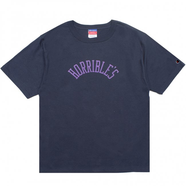 <img class='new_mark_img1' src='//img.shop-pro.jp/img/new/icons5.gif' style='border:none;display:inline;margin:0px;padding:0px;width:auto;' />HORRIBLE'S HERITAGE T-SHIRT / NAVY (ホリブルズ Tシャツ)