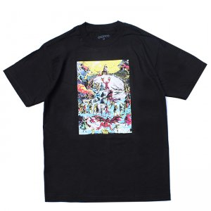 <img class='new_mark_img1' src='//img.shop-pro.jp/img/new/icons5.gif' style='border:none;display:inline;margin:0px;padding:0px;width:auto;' />GX1000 PARTY TEE / BLACK (ジーエックスセン Tシャツ / 半袖)