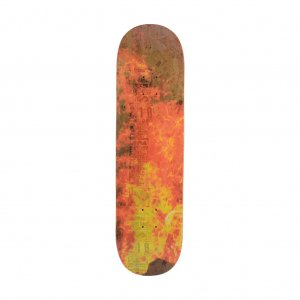 <img class='new_mark_img1' src='//img.shop-pro.jp/img/new/icons5.gif' style='border:none;display:inline;margin:0px;padding:0px;width:auto;' />GX1000 LSD SPRAY DECK / WHITE (ジーエックスセン デッキ / スケートデッキ)