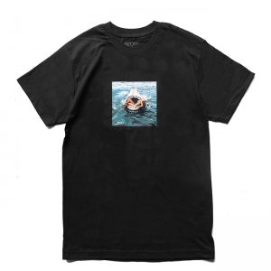 <img class='new_mark_img1' src='https://img.shop-pro.jp/img/new/icons5.gif' style='border:none;display:inline;margin:0px;padding:0px;width:auto;' />BECKY FACTORY FASHION KILLER SHARK TEE / BLACK (ベッキーファクトリー Tシャツ)