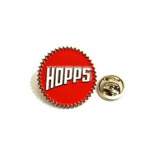 <img class='new_mark_img1' src='https://img.shop-pro.jp/img/new/icons5.gif' style='border:none;display:inline;margin:0px;padding:0px;width:auto;' />HOPPS SUN LOGO ENAMEL PIN (ホップス ピンズ)